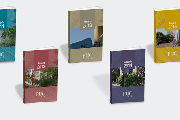 Anuários de 2011 a 2015 . PUC-Rio