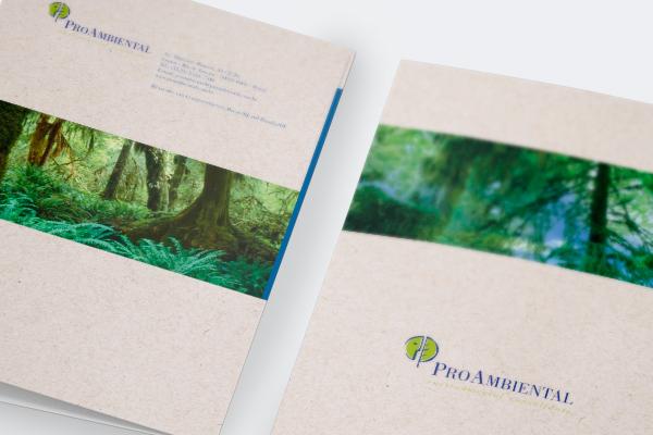 Identidade Visual . Pro Ambiental Consultoria