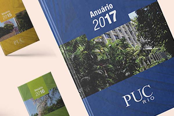 Anuários 2011 a 2018 . PUC-Rio