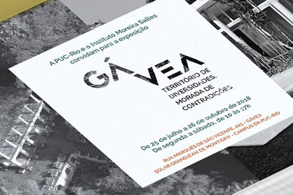 Exposição  Gávea – Território de diversidades, morada de contradições. Puc-Rio