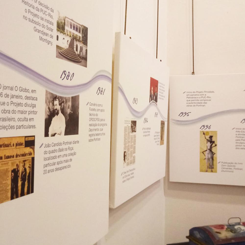 Exposição Uma Carta aos Brasileiros – 40 anos do Projeto Portinari. Puc-Rio